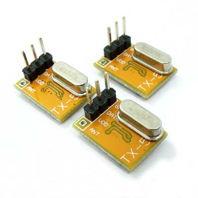 3x TX-5 10dBm 1.8 - 5V 315M 433M ASK Transmistter RF Wireless Arduino RC Switch