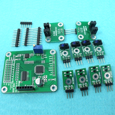 8-CH SPI IR Obstacle Detection + 2-CH Optical Speed sensor