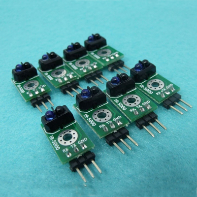 SE-8008 8-CH SPI IR Obstacle Detection + 2-CH Optical Speed sensor module